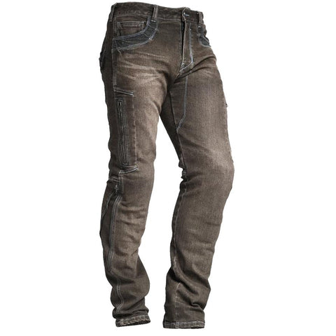 Mens Outdoor Distressed Cycling Trousers