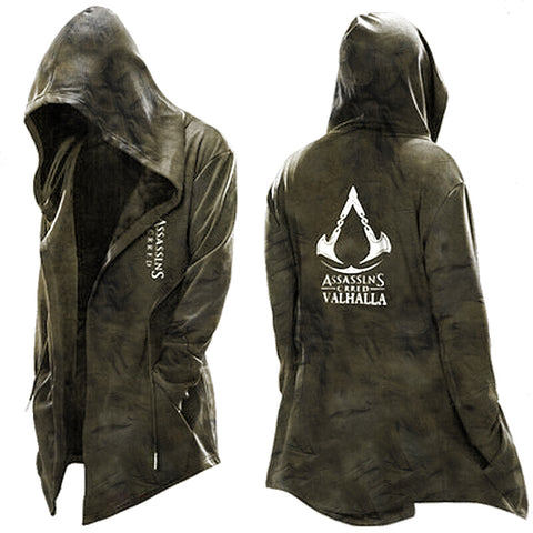 Assassins Cagoule Hoodie Jacket Costume Casual Coat