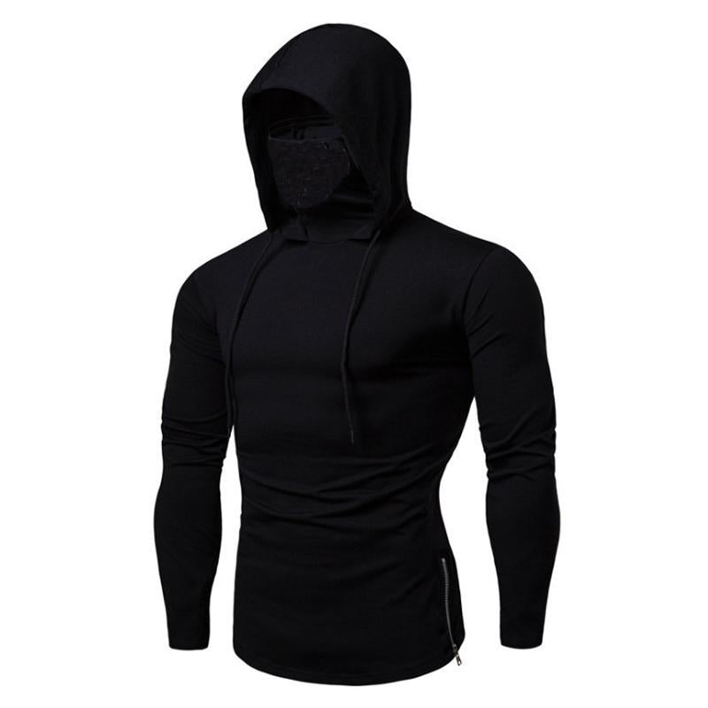 Men's Call of Duty Hooded Long Sleeve T-Shirt Fitness Sweatshirt