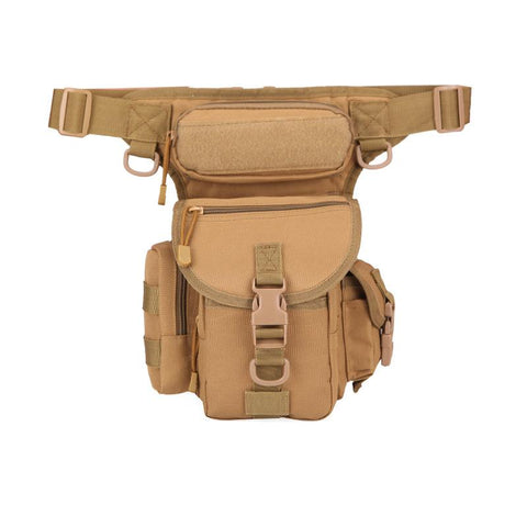 Waterproof Oxford cloth army camouflage one-shoulder messenger journalist photography sports leg bag