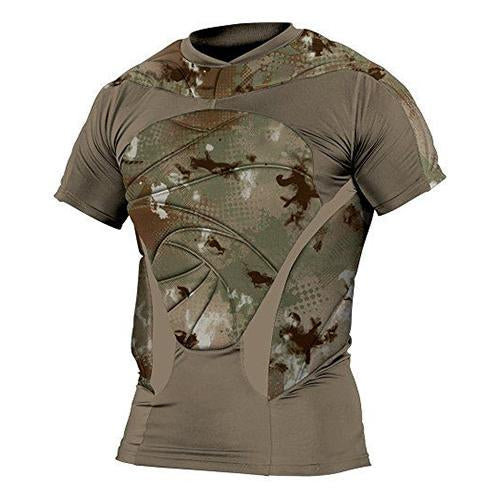 Mens stitching outdoor tactical T-shirt