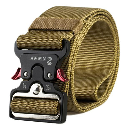 Outdoor nylon cobra buckle tactical belt