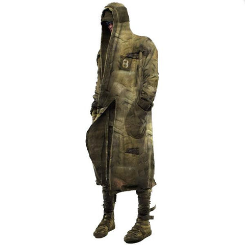 Men's Retro Tactical Hooded Jacket