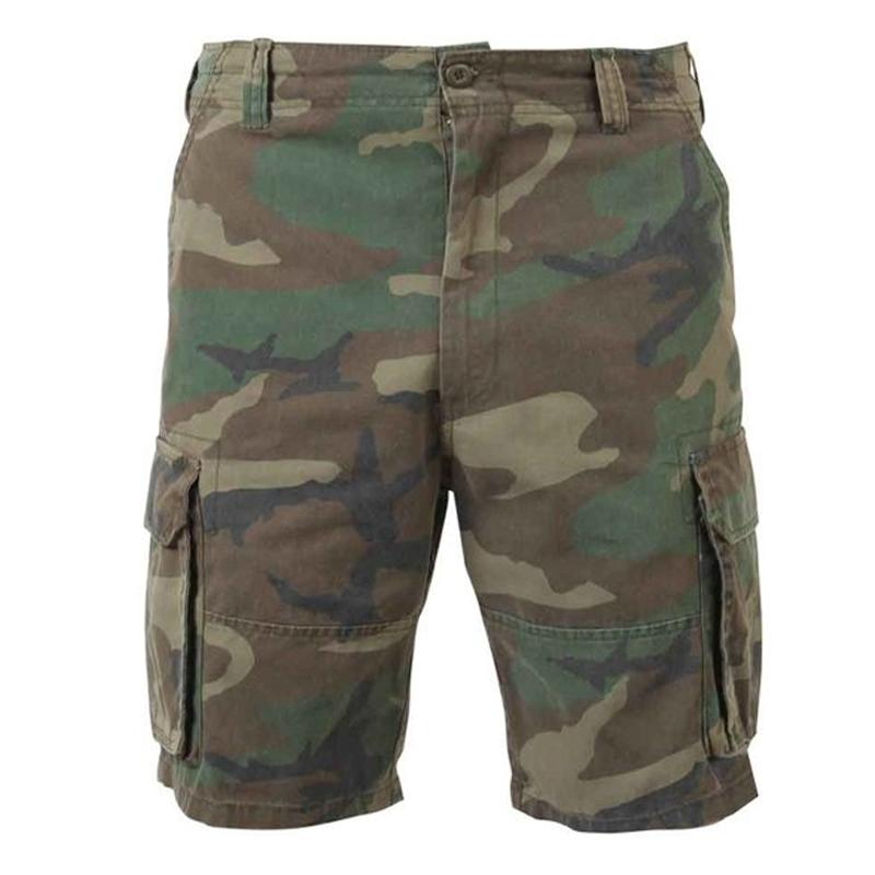 Men's fashion camouflage outdoor tactical shorts