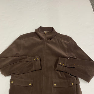 Primary Photo - BRAND: TALBOTS STYLE: COAT SHORT COLOR: BROWN SIZE: 10 SKU: 200-200202-4071