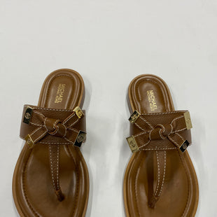 Primary Photo - BRAND: MICHAEL KORS STYLE: FLIP FLOPS COLOR: BROWN SIZE: 6 SKU: 200-200178-18183