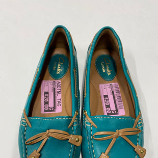 Primary Photo - BRAND: CLARKS STYLE: SHOES FLATS COLOR: BLUE SIZE: 6 SKU: 200-200192-7487