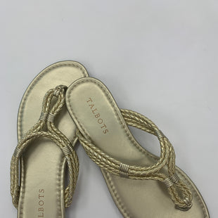 Primary Photo - BRAND: TALBOTSSTYLE: SANDALS FLATCOLOR: GOLDSIZE: 6SKU: 200-200196-442