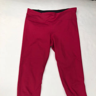 Primary Photo - BRAND: UNDER ARMOUR STYLE: ATHLETIC CAPRIS COLOR: PINK SIZE: M SKU: 200-200201-513