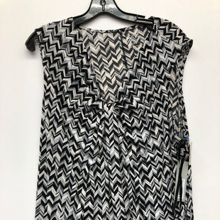 Primary Photo - BRAND: APT 9 STYLE: TOP SLEEVELESS COLOR: BLACK WHITE SIZE: 2X SKU: 200-200199-18577