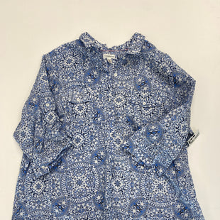 Primary Photo - BRAND: CROFT AND BARROW STYLE: BLOUSE SHORT SLEEVE COLOR: BLUE SIZE: 3X SKU: 200-200199-20130