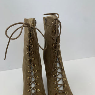 Primary Photo - BRAND: WILD DIVA STYLE: BOOTS ANKLE COLOR: TAN SIZE: 9 SKU: 200-200204-1240