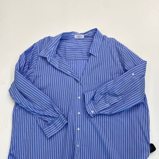 Primary Photo - BRAND: CALVIN KLEIN STYLE: BLOUSE COLOR: STRIPED SIZE: 3X SKU: 200-200199-19718