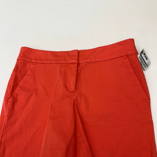 Primary Photo - BRAND: LOFT STYLE: SHORTS COLOR: ORANGE SIZE: 0 SKU: 200-200178-28158