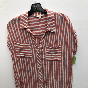 Primary Photo - BRAND: LUCKY BRAND STYLE: BLOUSE SHORT SLEEVE COLOR: STRIPED SIZE: M SKU: 200-200199-19239