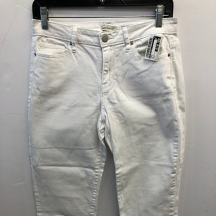 Primary Photo - BRAND: CALVIN KLEIN STYLE: PANTS COLOR: WHITE SIZE: 4 SKU: 200-200178-28454
