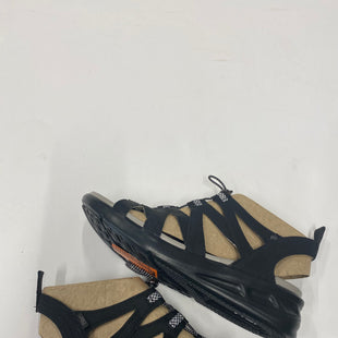 Primary Photo - BRAND:    CLOTHES MENTOR STYLE: SANDALS FLAT COLOR: BLACK SIZE: 10 SKU: 200-200199-14910