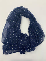 Primary Photo - BRAND: NEW YORK AND CO <BR>STYLE: SCARF <BR>COLOR: POLKADOT <BR>SKU: 200-200197-31095