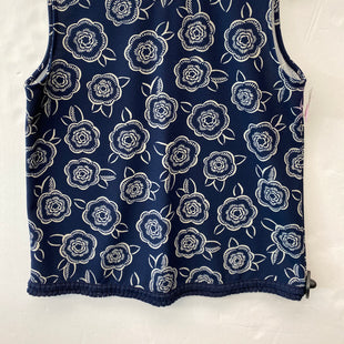 Primary Photo - BRAND: ANN TAYLOR STYLE: TOP SLEEVELESS COLOR: BLUE WHITE SIZE: M SKU: 200-200178-29889