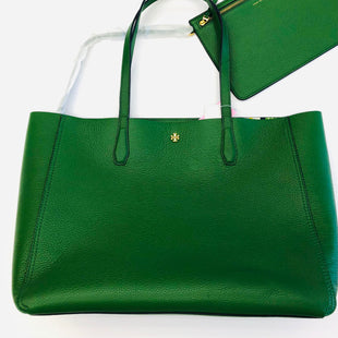 Primary Photo - BRAND: TORY BURCH STYLE: HANDBAG DESIGNER COLOR: GREEN SIZE: LARGE SKU: 200-200204-1712