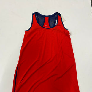 Primary Photo - BRAND: LIVI ACTIVE STYLE: DRESS SHORT SLEEVELESS COLOR: RED BLUE SIZE: XL SKU: 200-200197-36397