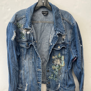 Primary Photo - BRAND: BEBE STYLE: JACKET OUTDOOR COLOR: DENIM SIZE: XL SKU: 200-200178-29838