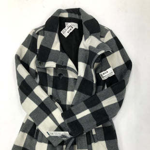 Primary Photo - BRAND:    CLOTHES MENTOR STYLE: COAT LONG COLOR: CHECKED SIZE: S SKU: 200-200199-16445