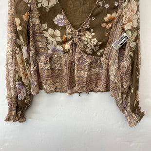 Primary Photo - BRAND: AMERICAN EAGLE STYLE: TOP LONG SLEEVE COLOR: BROWN SIZE: XXS SKU: 200-200178-29927