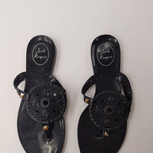 Primary Photo - BRAND: JACK ROGERS STYLE: SANDALS FLAT COLOR: BLACK SIZE: 6 OTHER INFO: UK 4 SKU: 200-200197-31418