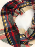 Photo #1 - BRAND:    CLOTHES MENTOR <BR>STYLE: SCARF WINTER <BR>COLOR: PLAID <BR>SKU: 200-200199-7450