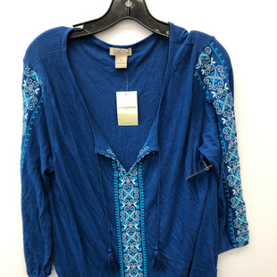 Primary Photo - BRAND: LUCKY BRAND STYLE: TOP LONG SLEEVE COLOR: BLUE SIZE: XL SKU: 200-200199-18596