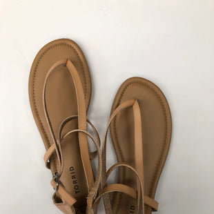 Primary Photo - BRAND: TORRID STYLE: SANDALS FLAT COLOR: PINK SIZE: 10 SKU: 200-200202-5742
