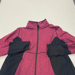 Primary Photo - BRAND: LIVI ACTIVE STYLE: ATHLETIC JACKET COLOR: PINKBLACK SIZE: XL SKU: 200-200199-14273