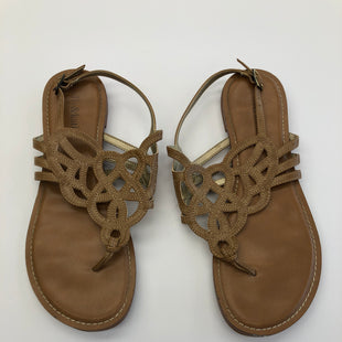 Primary Photo - BRAND: KELLY AND KATIE STYLE: SANDALS FLAT COLOR: TAN SIZE: 8.5 SKU: 200-200202-4273
