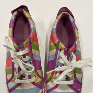 Primary Photo - BRAND: COACH STYLE: SHOES ATHLETIC COLOR: STRIPED SIZE: 7 SKU: 200-20012-8743