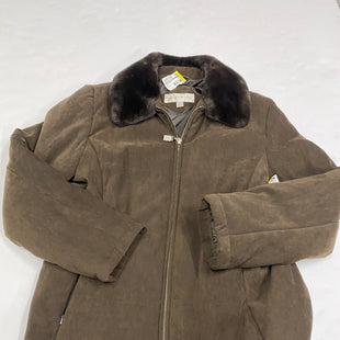 Primary Photo - BRAND: JONES NEW YORK STYLE: COAT SHORT COLOR: BROWN SIZE: M SKU: 200-200202-2729