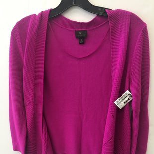 Primary Photo - BRAND: WORTHINGTON STYLE: SWEATER CARDIGAN LIGHTWEIGHT COLOR: HOT PINK SIZE: S SKU: 200-200199-22242