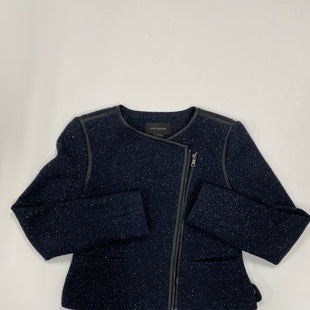 Primary Photo - BRAND: ANN TAYLOR STYLE: BLAZER JACKET COLOR: NAVY SIZE: 4 SKU: 200-200194-6562