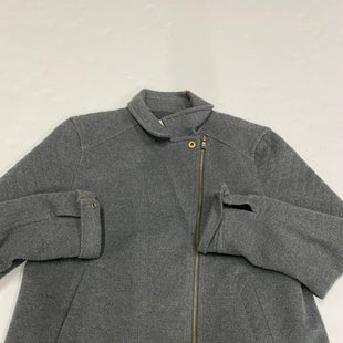 Primary Photo - BRAND: ANN TAYLOR LOFT STYLE: JACKET OUTDOOR COLOR: GREY SIZE: L SKU: 200-200199-12916