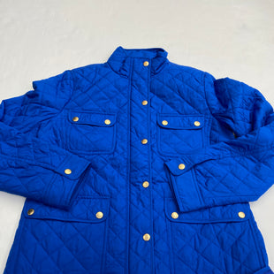 Primary Photo - BRAND: TALBOTS STYLE: JACKET OUTDOOR COLOR: ROYAL BLUE SIZE: S SKU: 200-200204-603