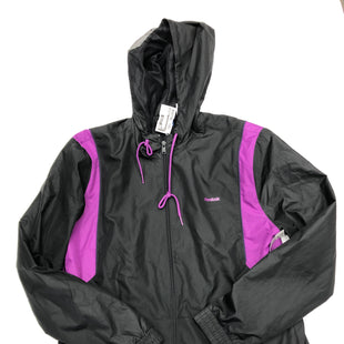 Primary Photo - BRAND: REEBOK STYLE: JACKET OUTDOOR COLOR: BLACK SIZE: L OTHER INFO: PURPLE SKU: 200-200202-2870