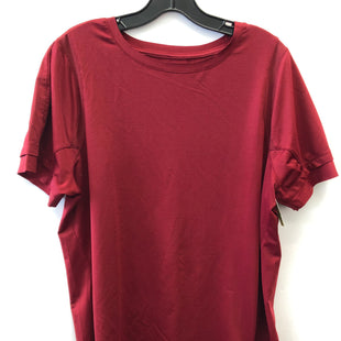 Primary Photo - BRAND: AVIA STYLE: ATHLETIC TOP SHORT SLEEVE COLOR: RED SIZE: XL SKU: 200-200178-28128