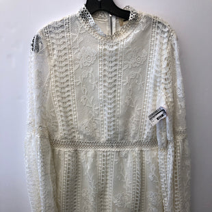 Primary Photo - BRAND: ALTARD STATE STYLE: DRESS SHORT LONG SLEEVE COLOR: WHITE SIZE: S SKU: 200-200192-7529