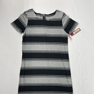 Primary Photo - BRAND: MERONA STYLE: DRESS SHORT SHORT SLEEVE COLOR: STRIPED SIZE: M OTHER INFO: BLACK & GREY SKU: 200-200204-742