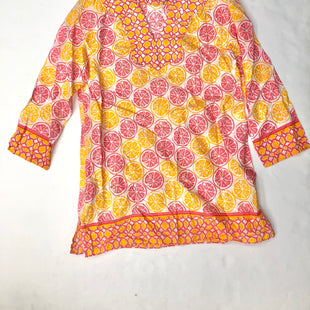 Primary Photo - BRAND: VINEYARD VINES STYLE: TUNIC LONG SLEEVE COLOR: ORANGEPINK SIZE: M SKU: 200-200199-5619