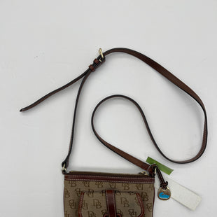 Primary Photo - BRAND: DOONEY AND BOURKE STYLE: HANDBAG DESIGNER COLOR: BROWN SIZE: SMALL SKU: 200-200207-321
