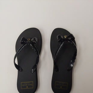 Primary Photo - BRAND: KATE SPADE STYLE: FLIP FLOPS COLOR: BLACK SIZE: 6 SKU: 200-200197-31423