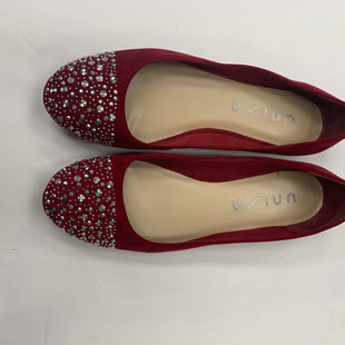 Primary Photo - BRAND: UNISA STYLE: SHOES FLATS COLOR: RED SIZE: 10 SKU: 200-200178-19205