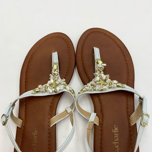 Primary Photo - BRAND: CHARMING CHARLIE STYLE: SANDALS FLAT COLOR: STONE SIZE: 8 SKU: 200-200194-8081
