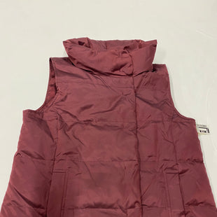 Primary Photo - BRAND: J JILL STYLE: VEST DOWN COLOR: MAROON SIZE: PETITE  MEDIUM SKU: 200-200178-19977